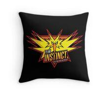 Team Instinct Throw Pillow