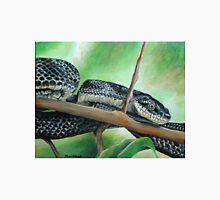 Friendly Black Rat Snake Unisex T-Shirt