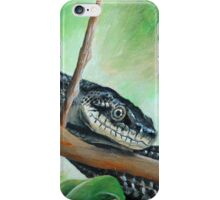 Friendly Black Rat Snake iPhone Case/Skin