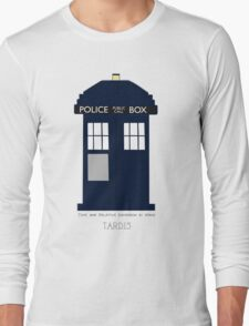 TARDIS Fan items Long Sleeve T-Shirt