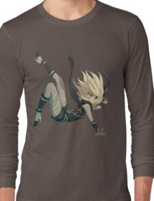 Gravity Rush - Falling Kat Long Sleeve T-Shirt