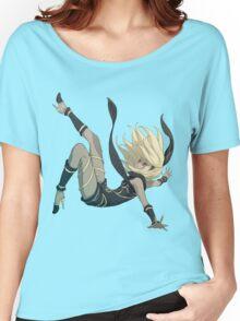 Gravity Rush - Falling Kat Women's Relaxed Fit T-Shirt