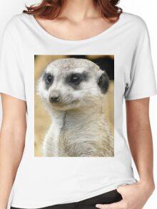 MEERKAT Women's Relaxed Fit T-Shirt