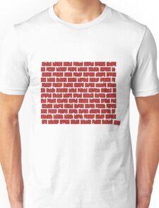 Empty Spaces Unisex T-Shirt
