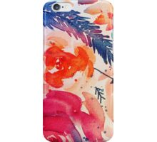 Fall Colored Flowers iPhone Case/Skin