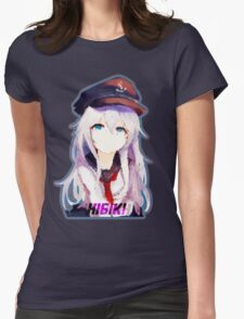Hibiki/Верный Womens Fitted T-Shirt