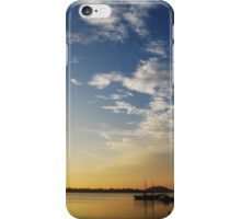 Sunset at Cananéia iPhone Case/Skin