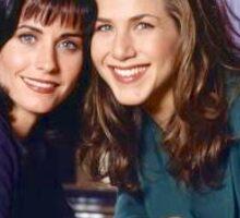 Jennifer Aniston and Courteney Cox  Sticker