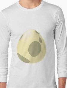 Pokego Egg Pregnant Funny T-Shirt Long Sleeve T-Shirt