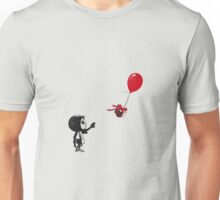 villager with a ballon Unisex T-Shirt