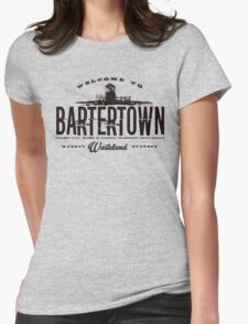 BarterTown Womens Fitted T-Shirt