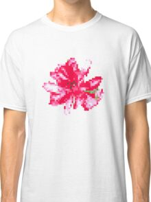 8 bit tongue flower Classic T-Shirt