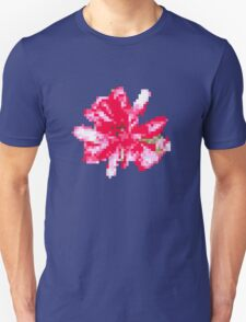 8 bit tongue flower Unisex T-Shirt