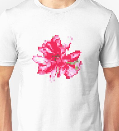 8 bit tongue flower Unisex T-Shirt