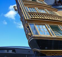 HMS Victory and HMS Rose Museum by Alex Rentzis