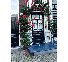 Flower Door Photographic Print