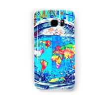 astronaut world map 5 Samsung Galaxy Case/Skin