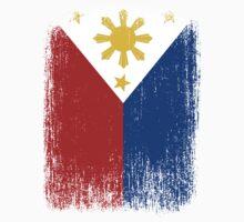 Philippines Flag Pride Kids Tee