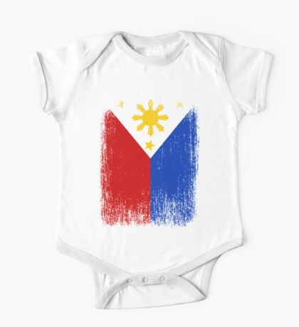 Philippines Flag Pride One Piece - Short Sleeve