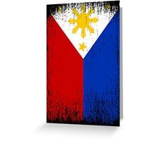 Philippines Flag Pride Greeting Card
