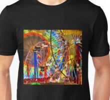 Wheels of Ferris Unisex T-Shirt
