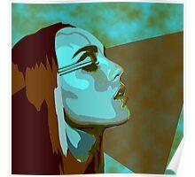 Zella Day KICKER album cover vector Poster