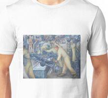 Diego Rivera Auto Plant Unisex T-Shirt