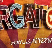 Purgatory Postcard Sticker