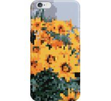 8bit orange things iPhone Case/Skin