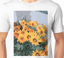 8bit orange things Unisex T-Shirt