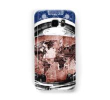 astronaut world map 6 Samsung Galaxy Case/Skin