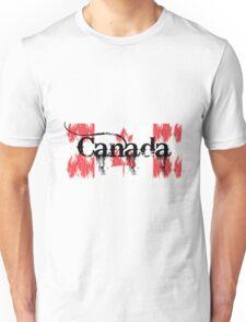 Canadian Flag Logo Unisex T-Shirt