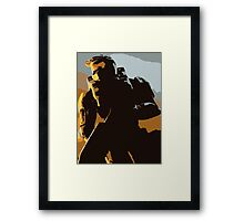 Master Chief Guardians HALO Framed Print