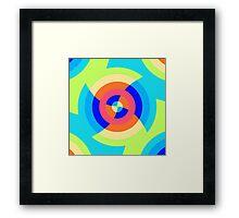 Geo 77 Framed Print
