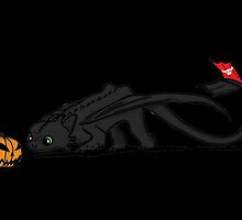 Nightfury meet Jack by AliBlackCat