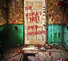 The world's not safe anymore by American Artist