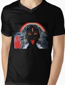 DR DEATHROCK LOVES KALI MA Mens V-Neck T-Shirt