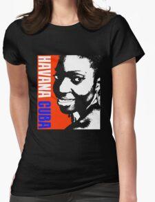 HAVANA-CUBA Womens Fitted T-Shirt