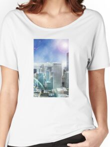 Galaxy Utopia Women's Relaxed Fit T-Shirt