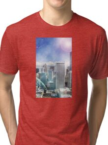 Galaxy Utopia Tri-blend T-Shirt