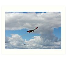 Boeing 727s For Cleaning Up Oil Spills  Art Print