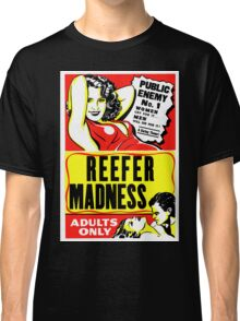 Reefer Madness Poster T-shirt Classic T-Shirt