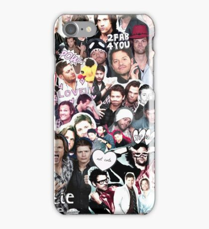 Supernatural Collage iPhone Case/Skin