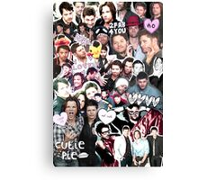 Supernatural Collage Canvas Print