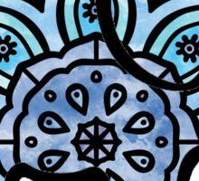 watercolor mandala elephant  Sticker