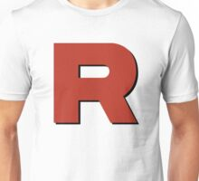 Team R Shadowed Unisex T-Shirt
