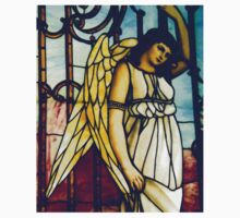 Angel - Stained Glass One Piece - Short Sleeve