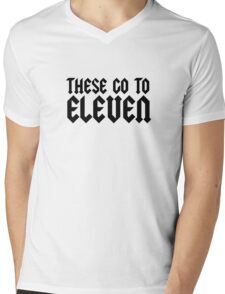 Spinal Tap Quote Funny Classic Comedy Mens V-Neck T-Shirt