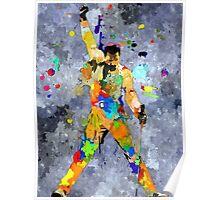 Freddie Grunge Poster
