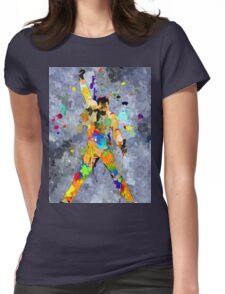 Freddie Grunge Womens Fitted T-Shirt